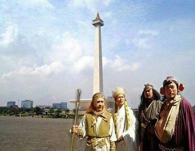 Rombongan Kera Sakti Tiba di Jakarta