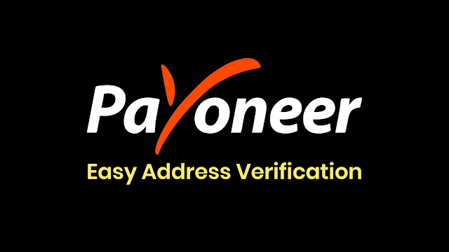 Payoneer - Easy Address Verification
