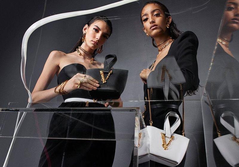 Versace Virtus Handbag Summer 2020 Campaign