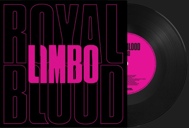 The cover of the Royal Blood Limbo Single - song from third Royal Blood Album