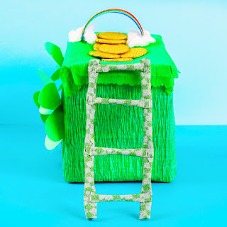 How To Catch A Leprechaun: Check out this awesome Leprechaun Trap craft from Growing A Jeweled Rose.