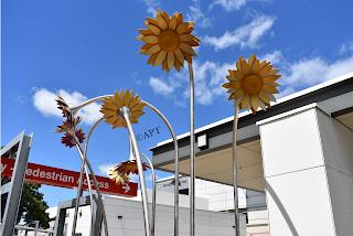 Flower Sculpture at the Launceston General Hospital   Launceston Public Art