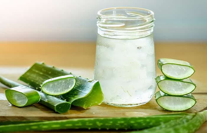 aloe vera lemon face mask