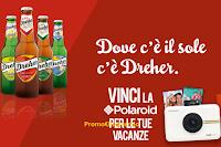 Logo Concorso ''Con Dreher vinci la Polaroid'': in palio 61 Polaroid Snap Touch