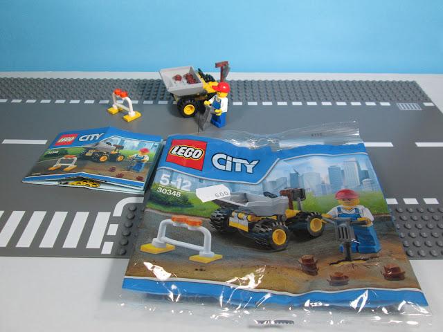 Set LEGO City 30348 Mini Dumper