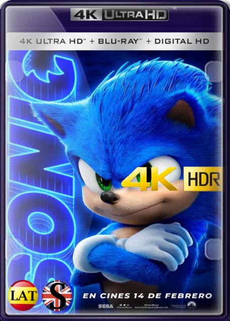 Sonic: La Película (2020) 4K UHD HDR LATINO/INGLES