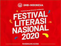 Festival Literasi Nasional 2020 (FLN 2020) oleh GMB-Indonesia