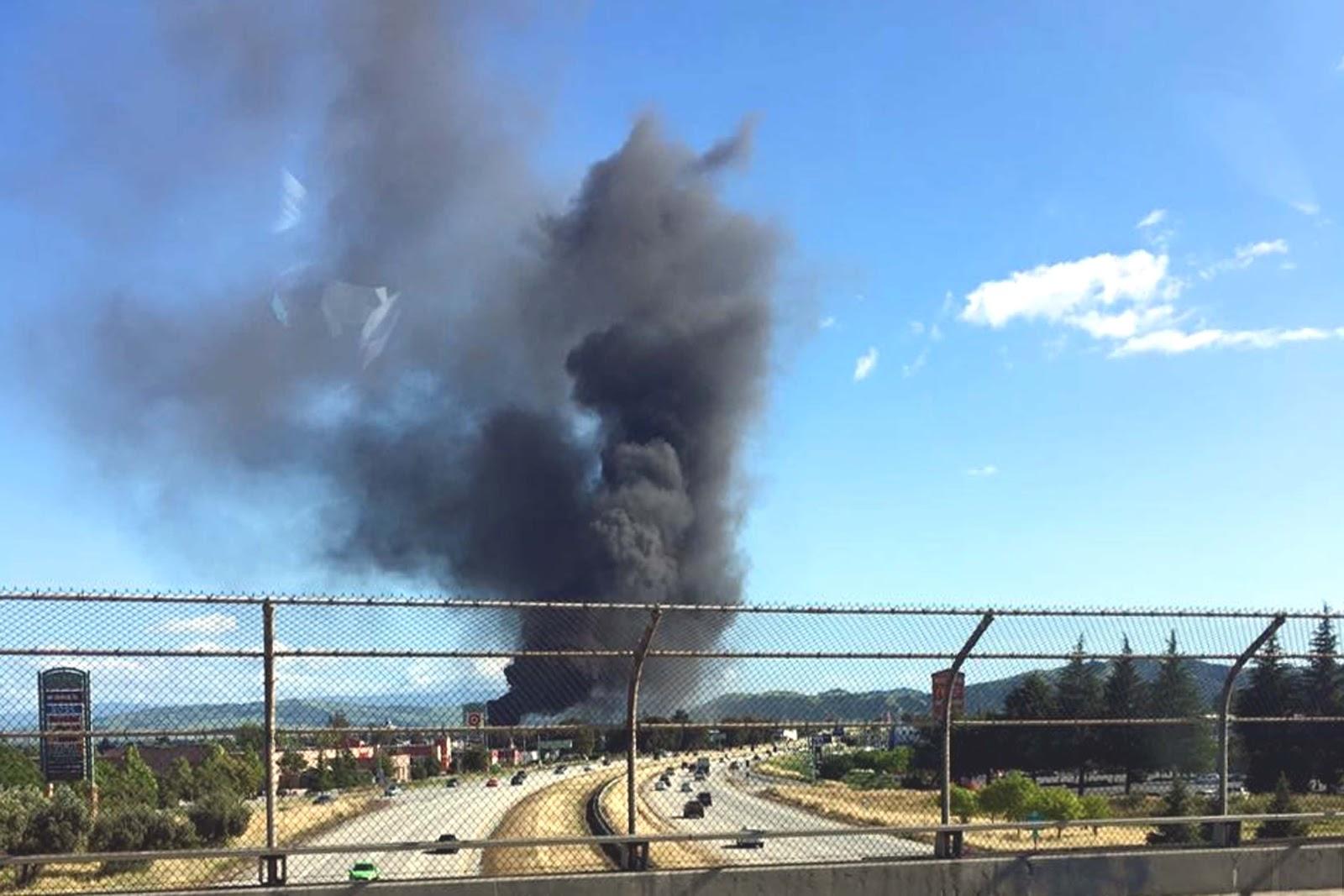 Fire Associates Of Santa Clara Valley Smokey Fire In Gilroy Brings 3 Alarm Response