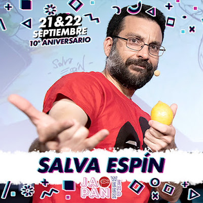 Salva Espín, el dibujante de Marvel de mayor actualidad, en Japan Weekend Madrid.