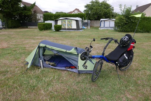 Randonnée à vélo Camping de Ezy sur Eure