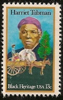 US Black Heritage Harriet Tubman 13c single