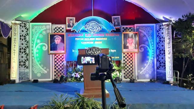 Seremonial Mujahadah Rubuussanah Wahidiyah PSW Demak