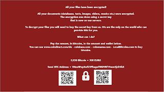 Wholocked Ransomware, Gendarmerie, Mavideo шифровальщик