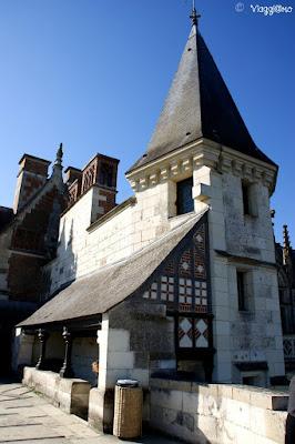 Scorci del Palazzo Reale di Amboise