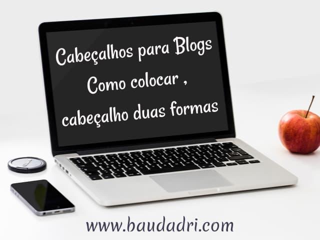 cabeçalhos grátis para blogs