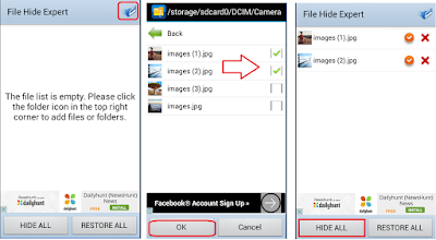 how to hide selected image photo picture,how to hide apps,how to hide selected video,hide file and folder,hide movies,how to hide particular file folder image photo video,android hide,how to hide in android,best app to hide everything,selected hide,particular item hide,hide all,password protect,hide apps,images hide in android phone & table,hide gallery,hide video folder,hide doc.,how to hide,how to invisible,hide contact,hide whatsapp How to Hide Particular Images, Video, Music, Files & Folder in Android File Hide Expert) Hide selected images, video, music, file and folder in android phone.