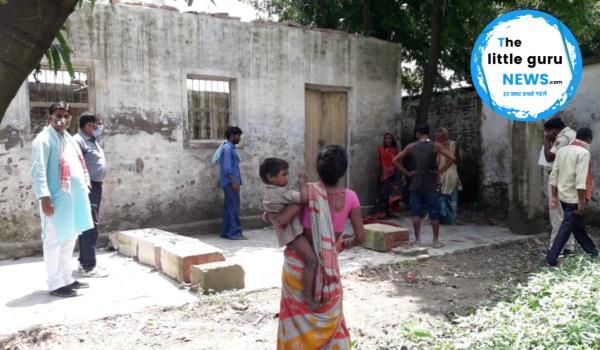बाढ़ के कारण विस्थापित बालक के ऊपर स्कूल की दीवार का पिलर गिरा, मौत