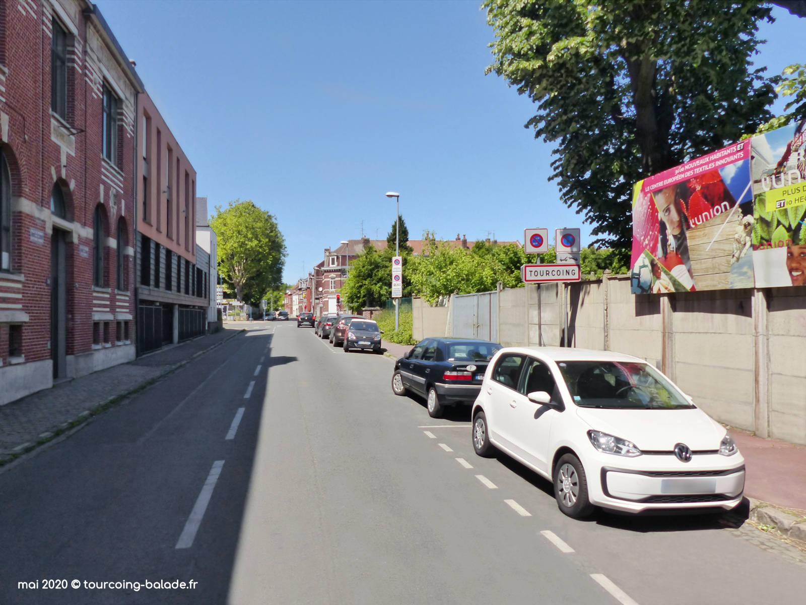 Rue du Fresnoy, Tourcoing 2020