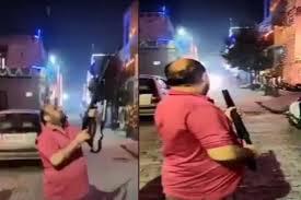 Former BJP MLA firing on Deepawali, case filed after video went viral