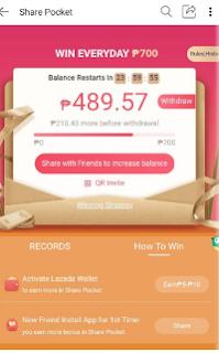 Cara Untuk Mendapatkan 150K di Event Lazada Share Pocket Ternyata Begini
