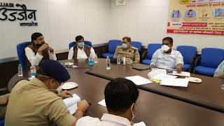 मंत्री डॉ.यादव ने प्रशासनिक अधिकारियों के साथ विभिन्न स्थानीय मु्द्दों पर चर्चा की