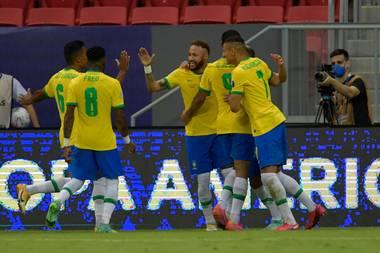 Brazil wins their first game against Venezuala in COPA America 2021