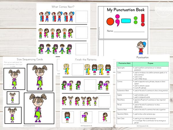 handy-punctuation-marks-book-cheat-sheet-language-arts-kindergarten-first-grade-2nd-grade-3rd-grade