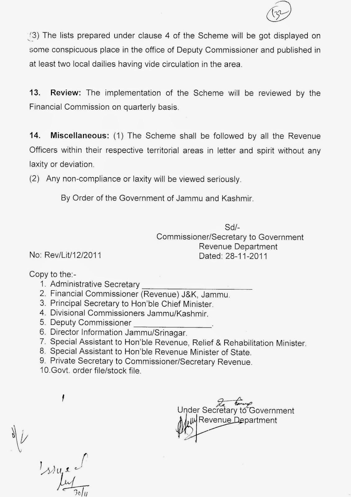 special secretary revenue