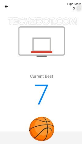 Your objective is to get the ball in the basket the maximum number of times.