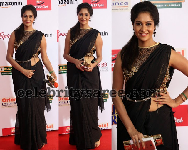 Sindhu Affan at Mirchi Awards
