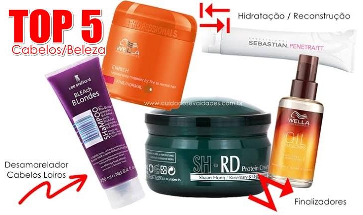 Produtos para cabelos danificados