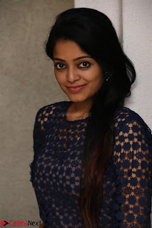 Dazzling Janani Iyer New pics in blue transparent dress spicy Pics 001.jpg