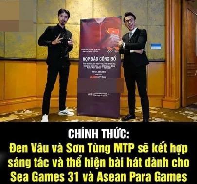 """Xôn xao tin Sơn Tùng MTP """"bắt tay"""" rapper Đen Vâu trong dự án âm nhạc"""