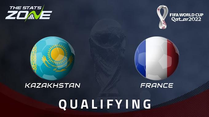 Watch Kazakhstan vs France Live Match