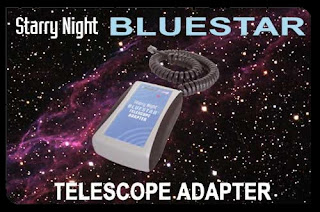 Bluestar adapter with telescope interface cable