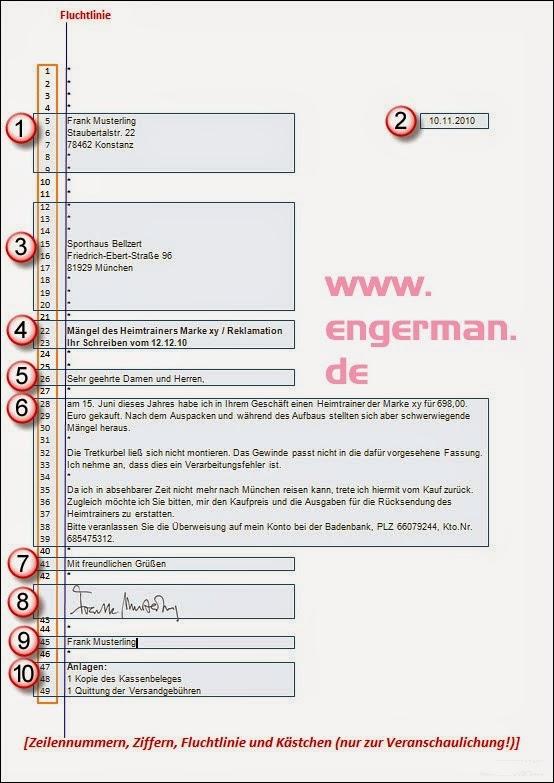 Briefe Mit Anlagen : Formeller brief schreiben « l e a r n g m