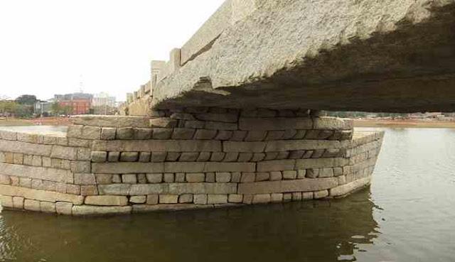 Susunan batu jembatan Anping