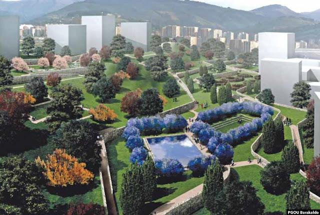 Imágenes del proyecto recogidas en el Plan General de Ordenación Urbana