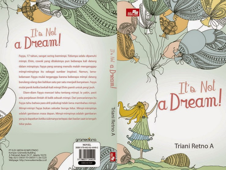 behind the story novel it's not a dream
