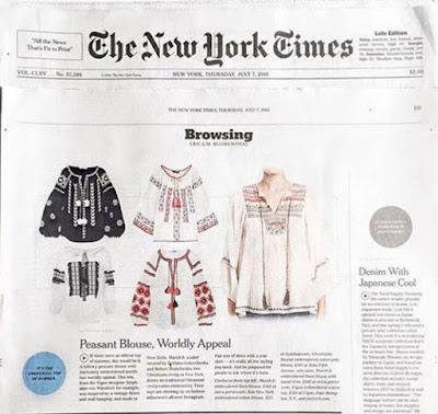 The New York Times назвало українську вишиванку трендом літа