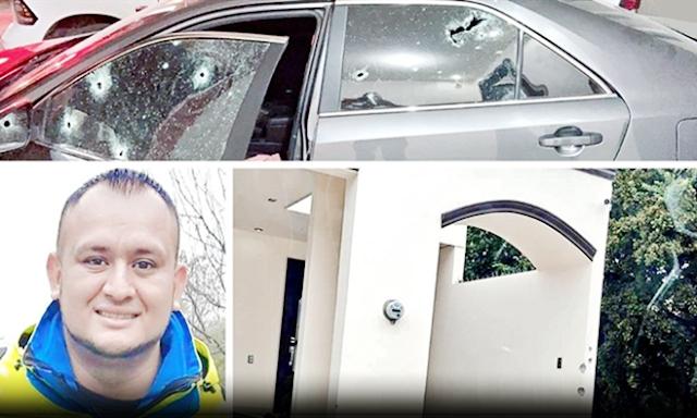 """""""Sicarios entrenados para matar"""" a jefe de protección civil le dispararon con mas de 30 balazos antes de bajarse del auto y no le pego ninguno"""