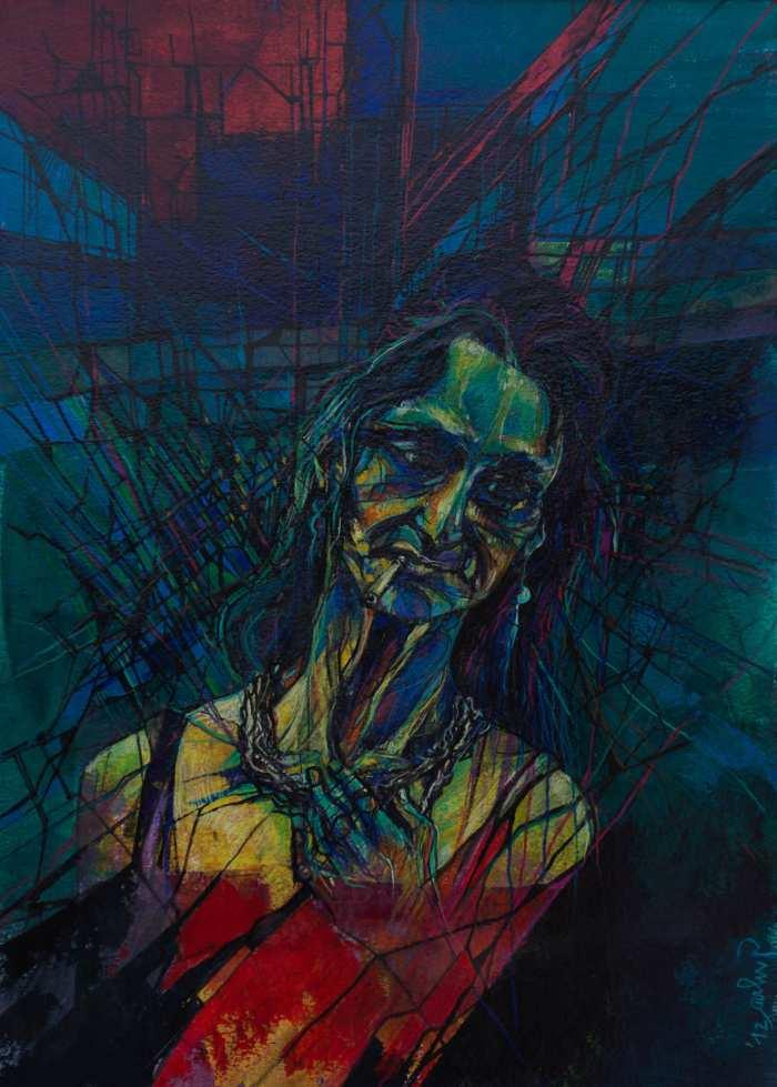 Итальянский художник. Giulia Gellini