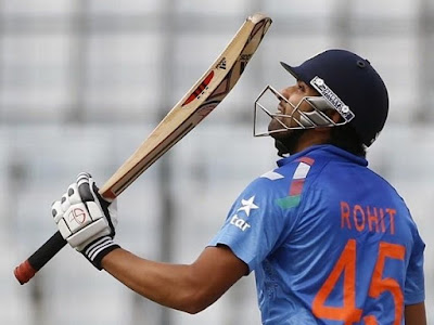 Famous Cricketer Rohit Sharma hd wallpapers images