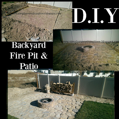 Simply Everthing I Love Backyard Fire Pit