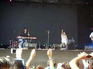 Natalia Lafourcade y Meme en Lollapalooza Chile