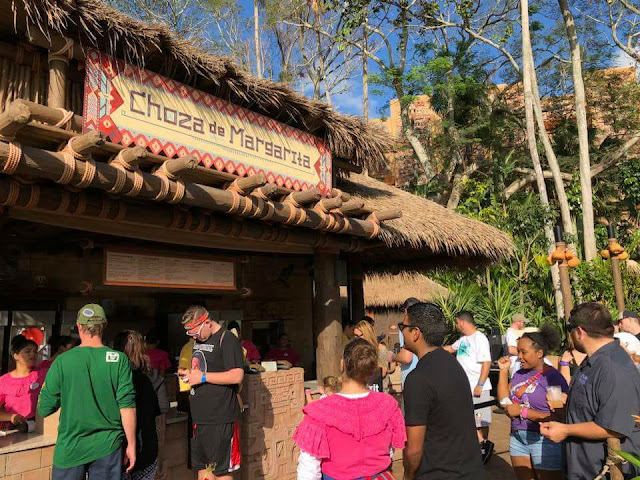 Entrada do Bar Choza de Margarita no Disney Epcot em Orlando