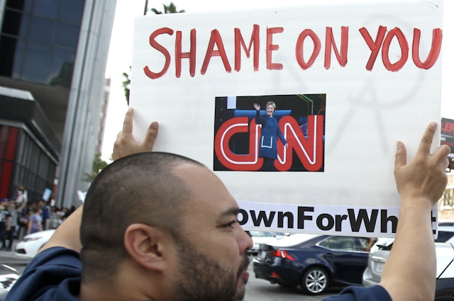 CNN Death Spiral Continues with Double Digit Q2 Ratings Collapse