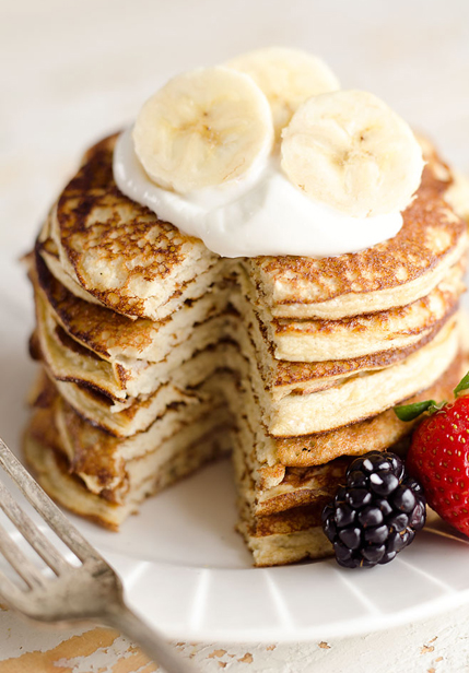 Healthy Snack Option Eat Clean Energy Morning Breakfast Pre Workout Banana Pancakes Recipe