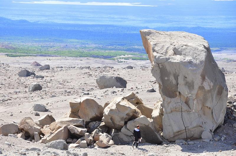 камни вулкан шивелуч камчатка