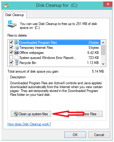 Xóa bỏ các file tạm, file rác, windows old sau khi cài đặt windows 10